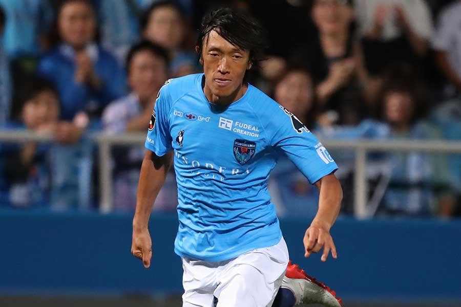 横浜FCのMF中村俊輔【写真:高橋学】