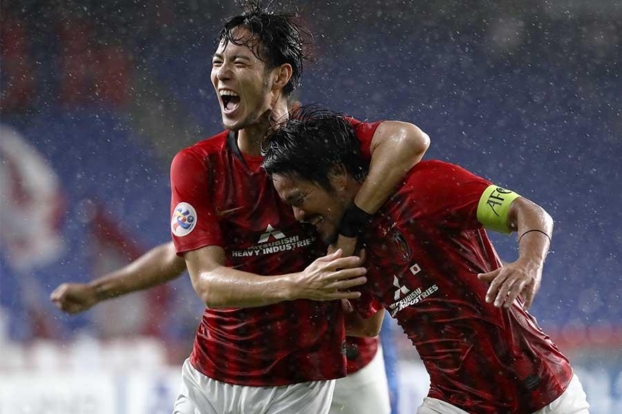 2年ぶりのACL決勝進出を決めた浦和レッズ【写真:Getty Images】