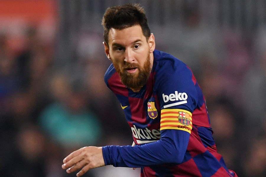 バルセロナFWメッシが本調子に戻ってきている【写真:Getty Images】