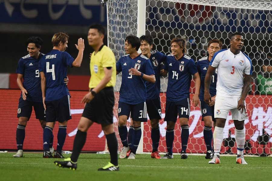 森保ジャパン、パナマに3-0快勝で初陣から2連勝!【写真:Getty Images】