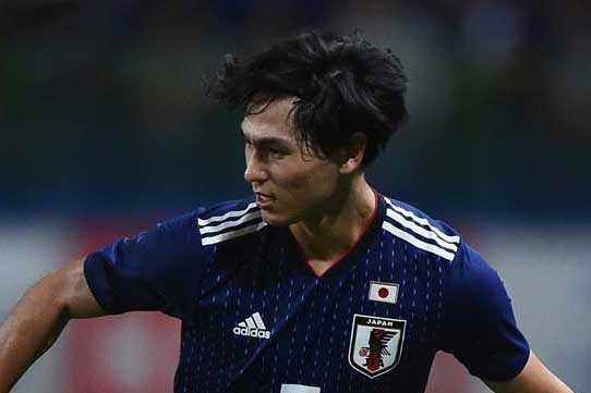 南野が2試合連続ゴール! 日本代表がパナマに先制、1-0で後半へ【写真:Getty Images】