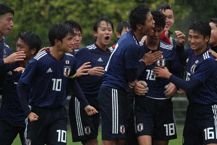 U-15日本代表、強豪フランス戦で見えた課題と収穫とは?【写真:Tomoko Yasuda】