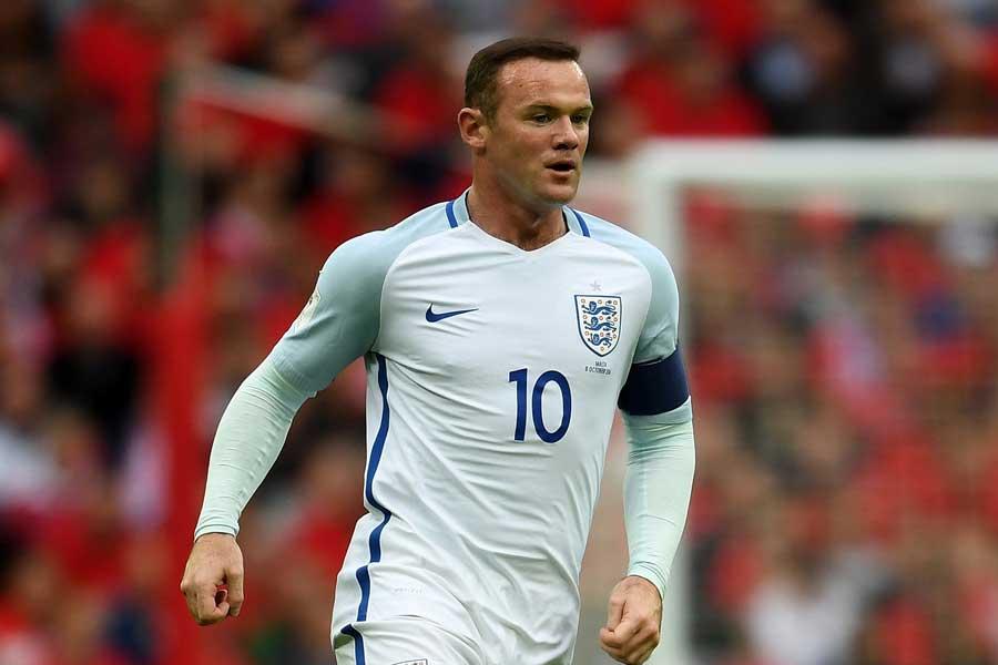元イングランド代表FWルーニー、1試合限りの代表復帰か【写真:Getty Images】