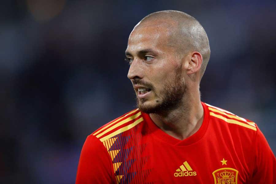 今年8月にスペイン代表からの引退を表明したMFシルバ【写真:Getty Images】