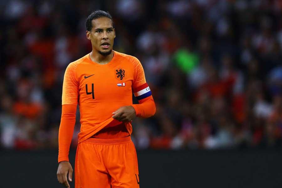 オランダ代表DFファン・ダイク【写真:Getty Images】