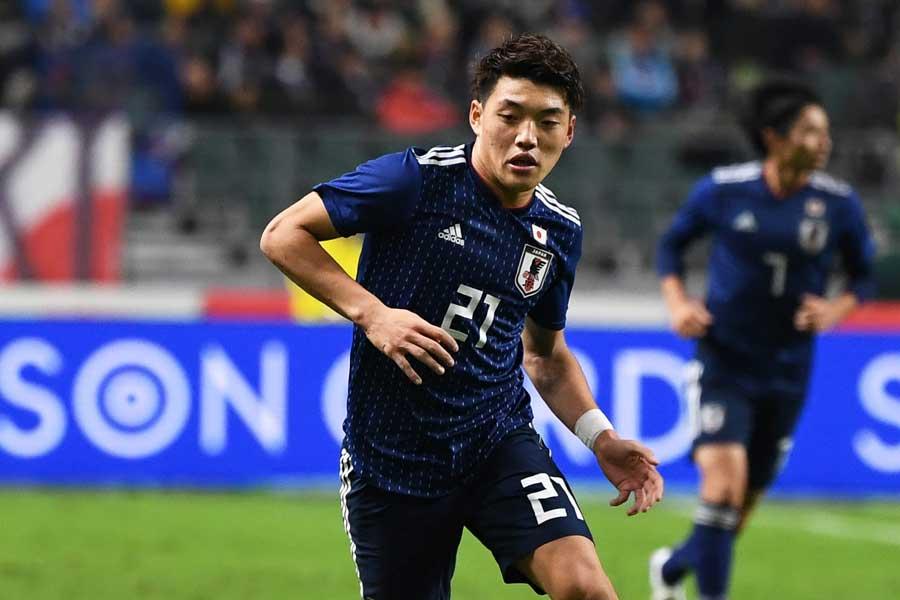 日本代表MF堂安【写真:Getty Images】