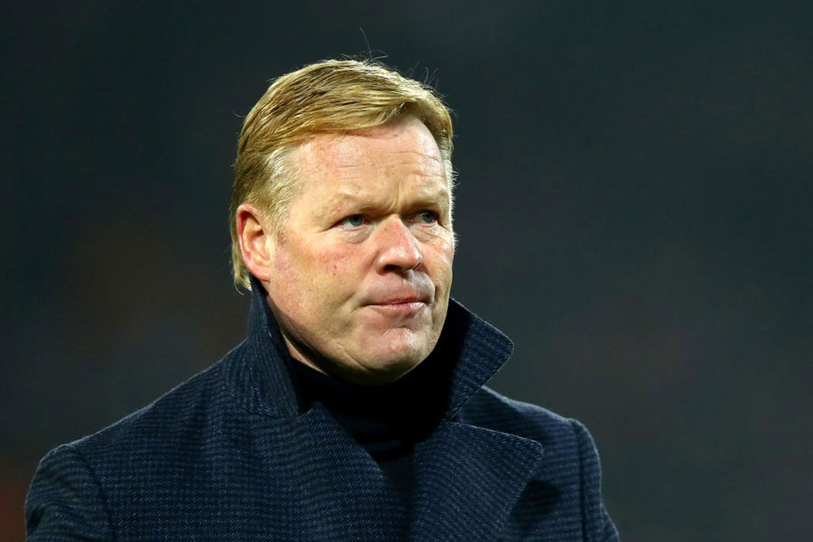 オランダ代表のクーマン監督【写真:Getty Images】
