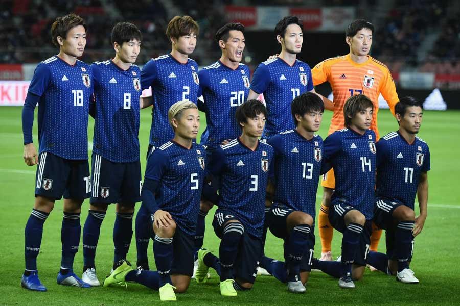 年内最後のテストマッチを4-0で快勝した日本代表【写真:Getty Images】