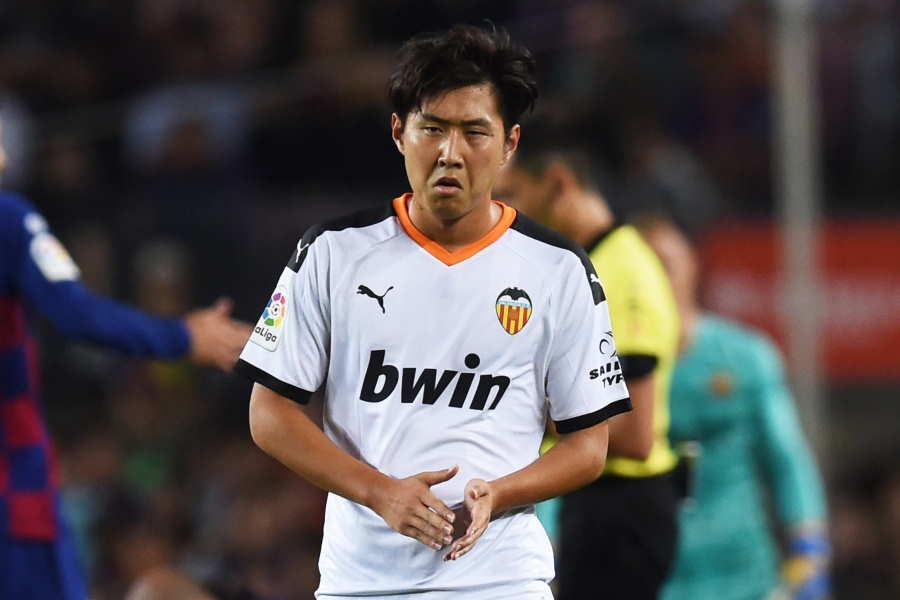 バレンシアの韓国代表MFイ・ガンイン【写真:Getty Images】