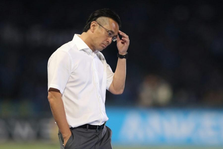 浦和の大槻監督への処分が決定した【写真:Getty Images】
