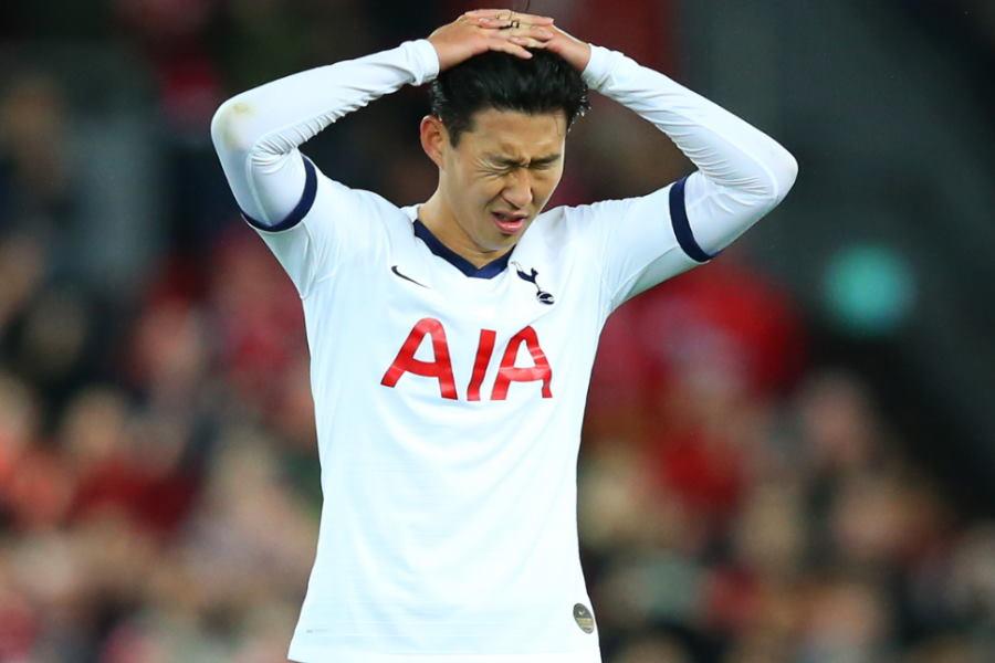 韓国ではソン・フンミンのメンタルが心配されている【写真:Getty Images】