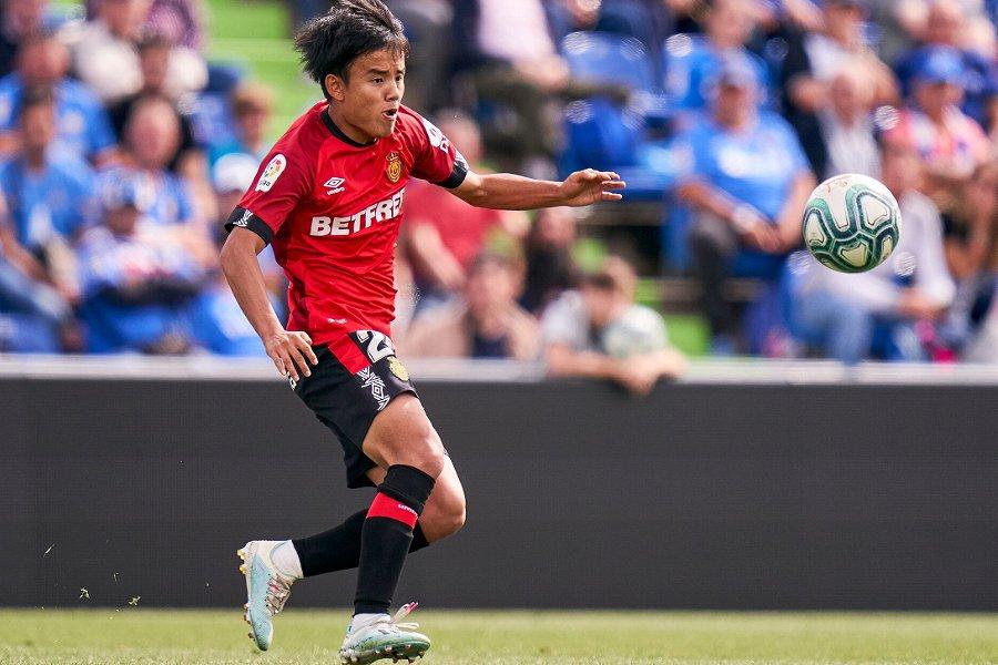 クラブ歴代2番目の若さでのゴールを決めたマジョルカMF久保【写真:Getty Images】