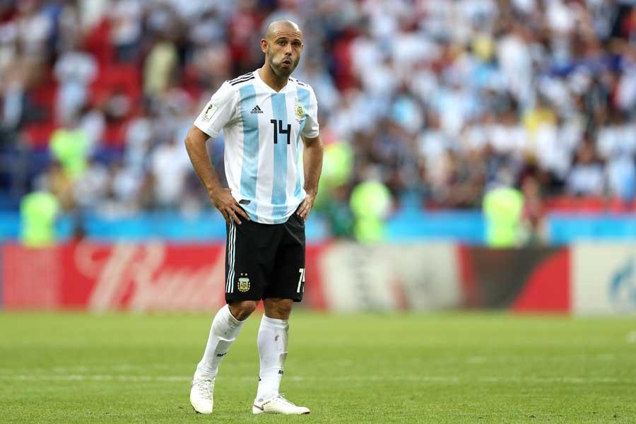 アルゼンチン代表としてプレーしたマスチェラーノが母国復帰【写真:Getty Images】