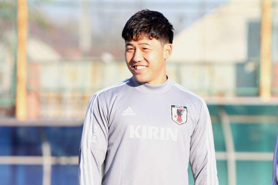 日本代表MF遠藤航【写真:Football ZONE web】