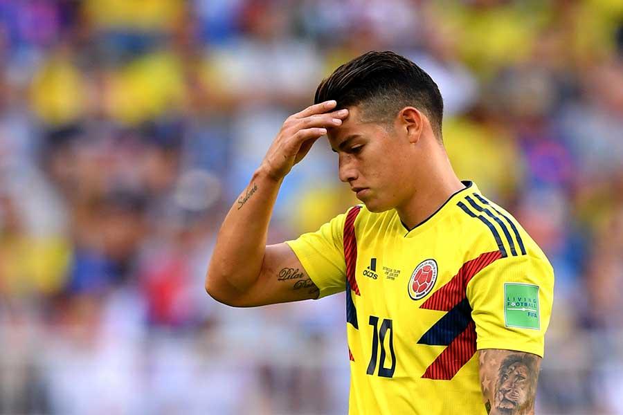 レアル・マドリードMFハメス・ロドリゲスが怪我で代表から離脱【写真:Getty Images】