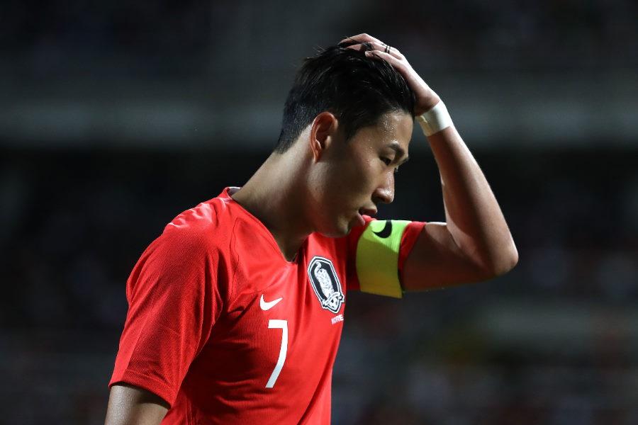 韓国代表のソン・フンミン【写真:Getty Images】