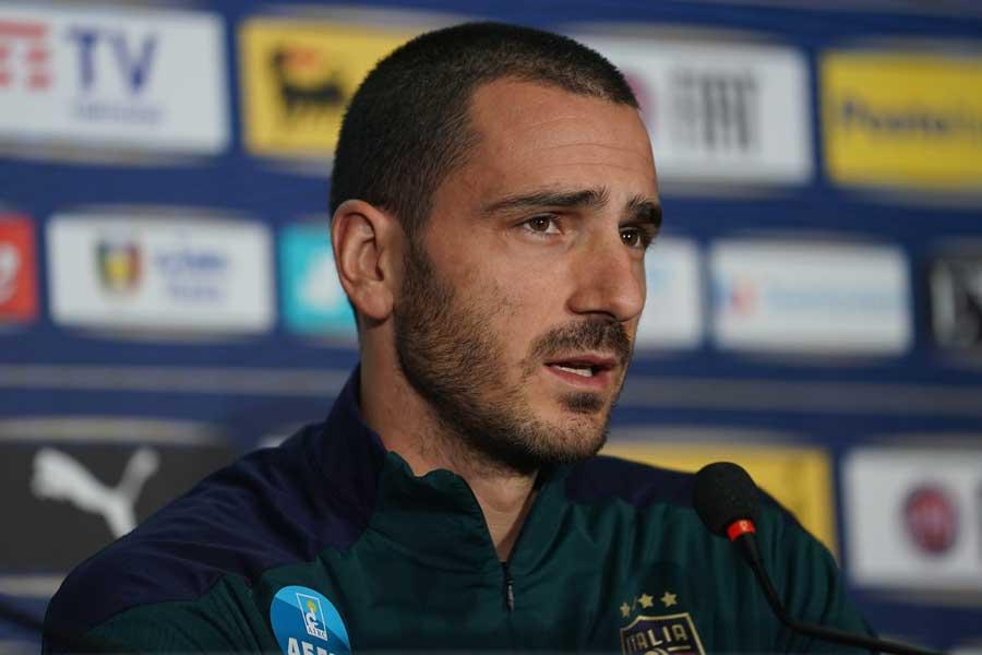 イタリア代表DFレオナルド・ボヌッチ【写真:Getty Images】