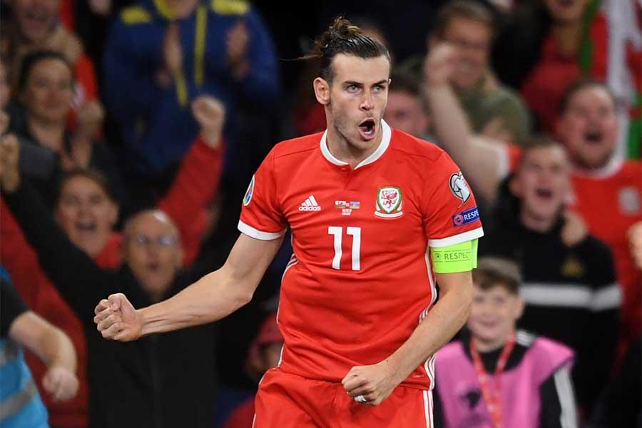 ギャレス・ベイルがウェールズ代表戦で怪我から復帰【写真:Getty Images】