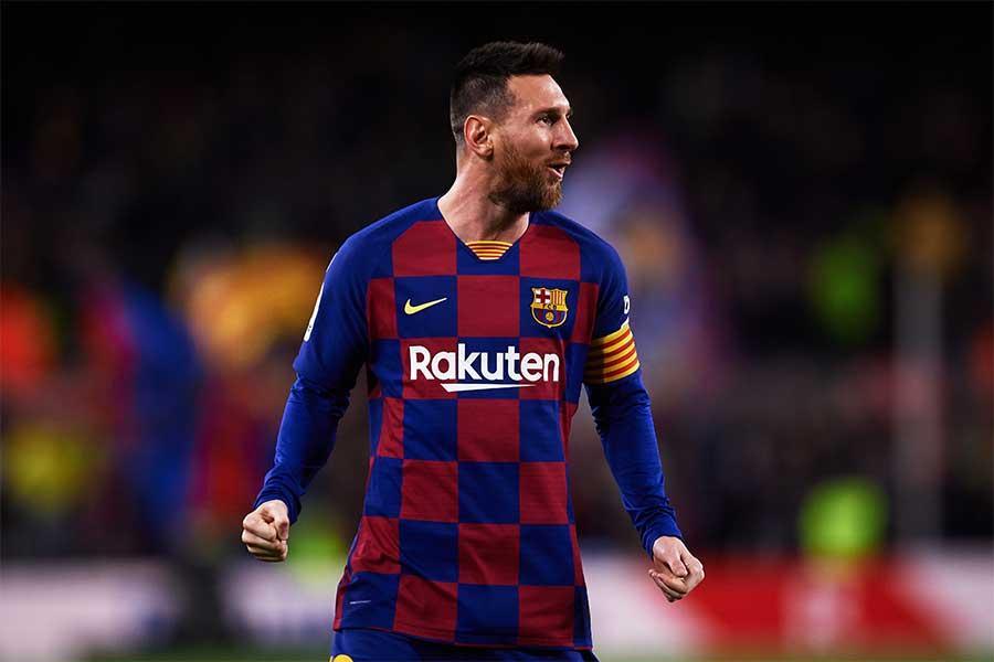 5試合連続ゴール中のバルセロナFWリオネル・メッシ【写真:Getty Images】