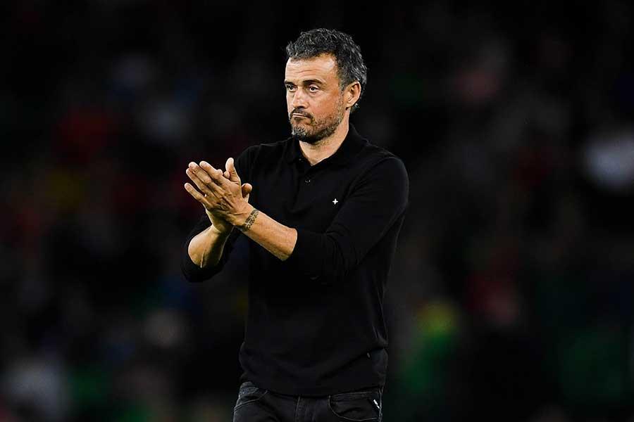 ルイス・エンリケがスペイン代表監督に復帰か【写真:Getty Images】