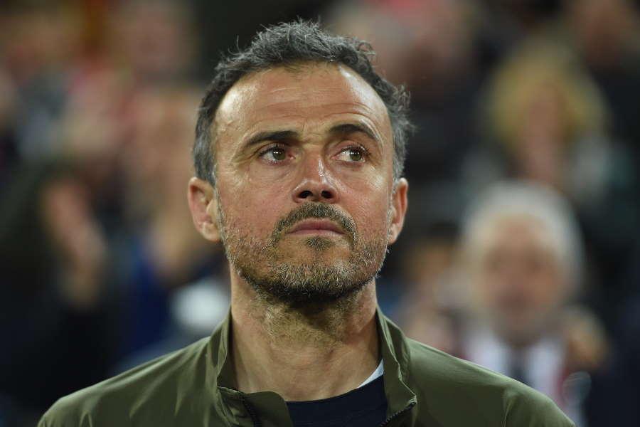 スペイン代表に復帰したルイス・エンリケ監督【写真:Getty Images】