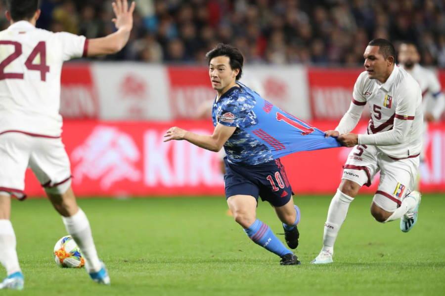 日本代表は後半猛攻を仕掛けるも、日本は大敗【写真:高橋学】