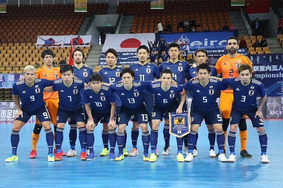 フットサル日本代表がスペイン代表戦のメンバーを発表【写真:河合拓/Futsal X】