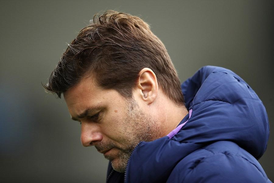 選手へメモを残したトットナムのポチェッティーノ前監督【写真:Getty Images】