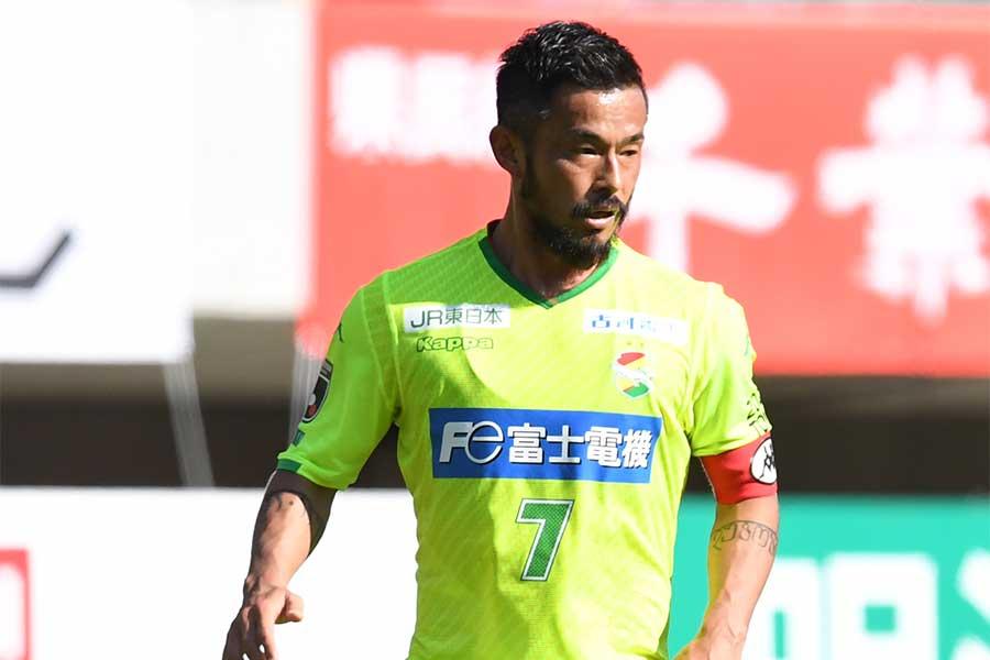 今季限りで引退を発表している千葉MF佐藤勇人【写真:Getty Images】