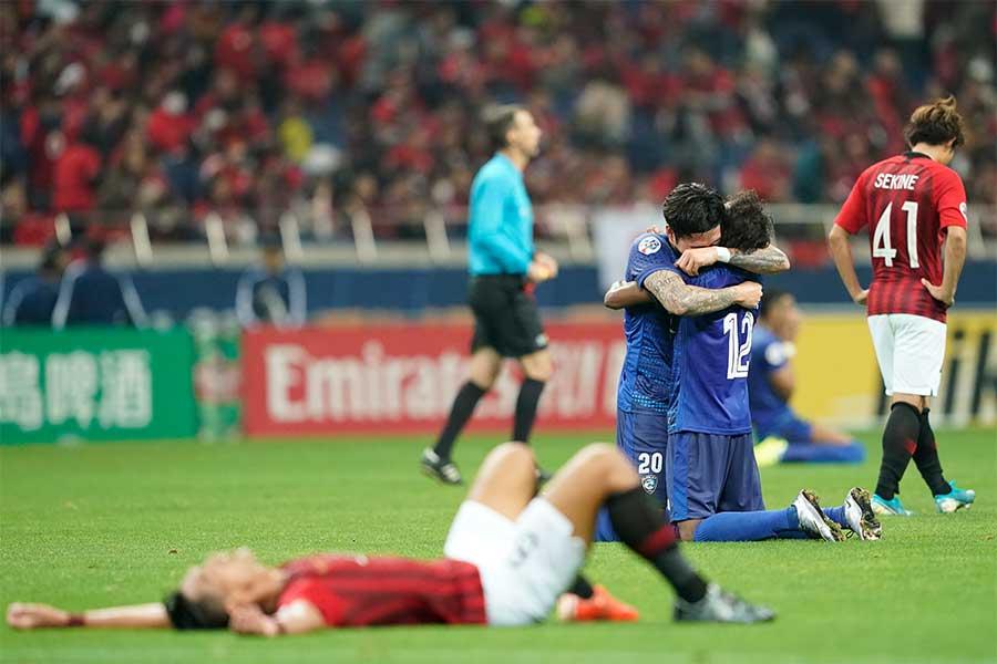 浦和レッズはアル・ヒラルに敗れ、Jリーグ勢の3連覇ならず【写真:AP】