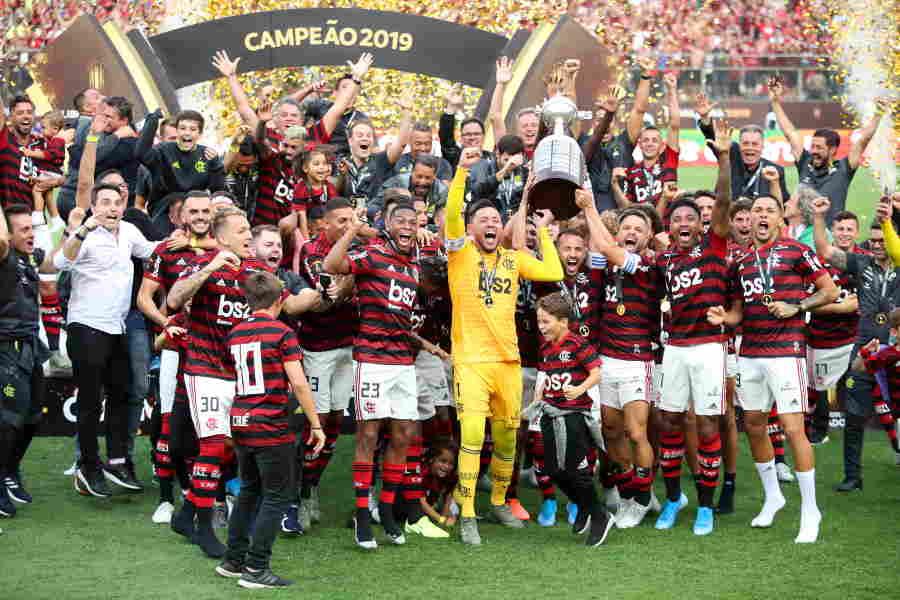 フラメンゴが南米王者となった【写真:Getty Images】