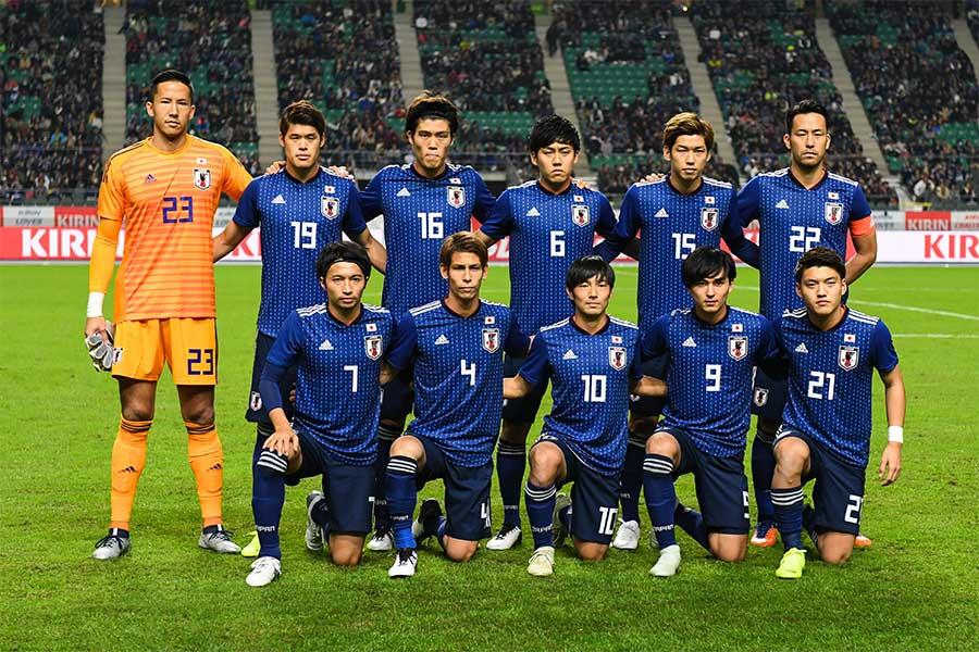 日本代表、アジアカップの招集メンバーを発表(写真はベネズエラ戦のもの)【写真:Getty Images】