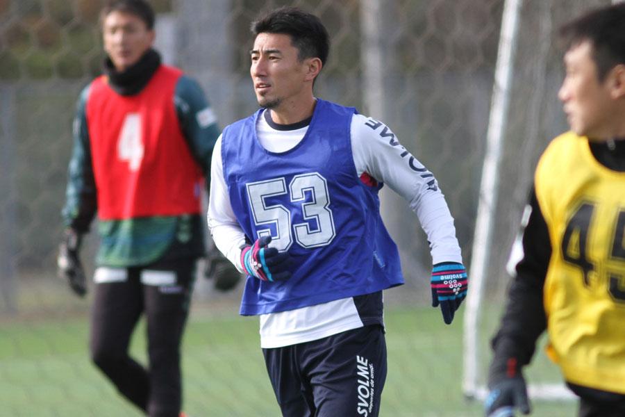 FC町田ゼルビアFW中村は、午前の部に参加した【写真:Football ZONE web】