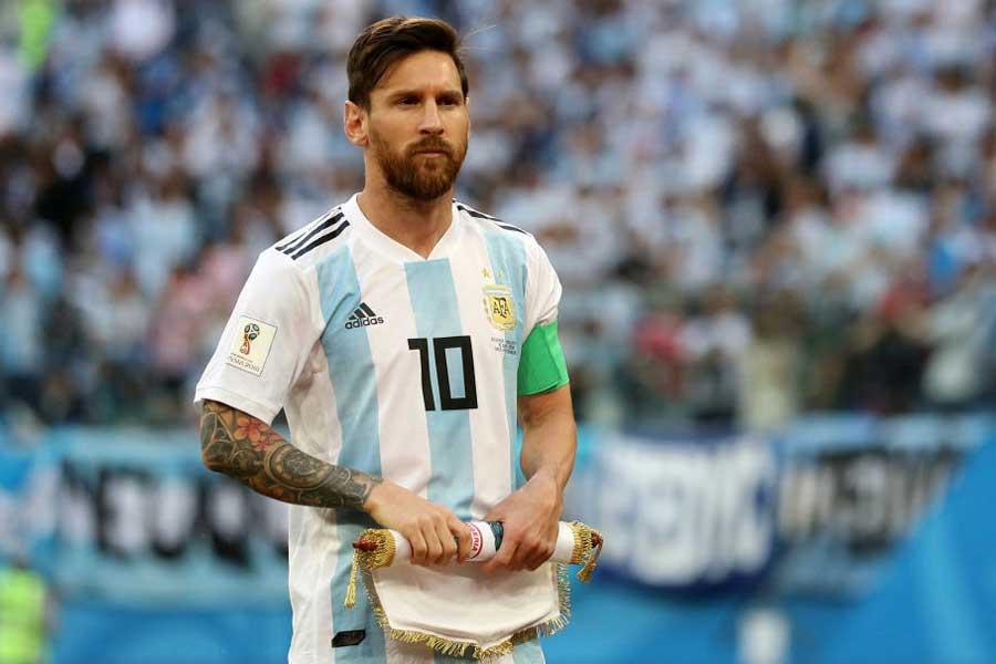 アルゼンチン代表から離れているメッシは、コパ・アメリカで代表復帰?【写真:Getty Images】