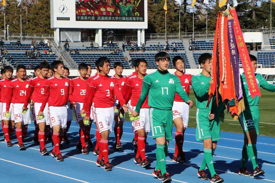 浦和南はは出場12度目にして初の初戦敗退となった【写真:Football ZONE web】