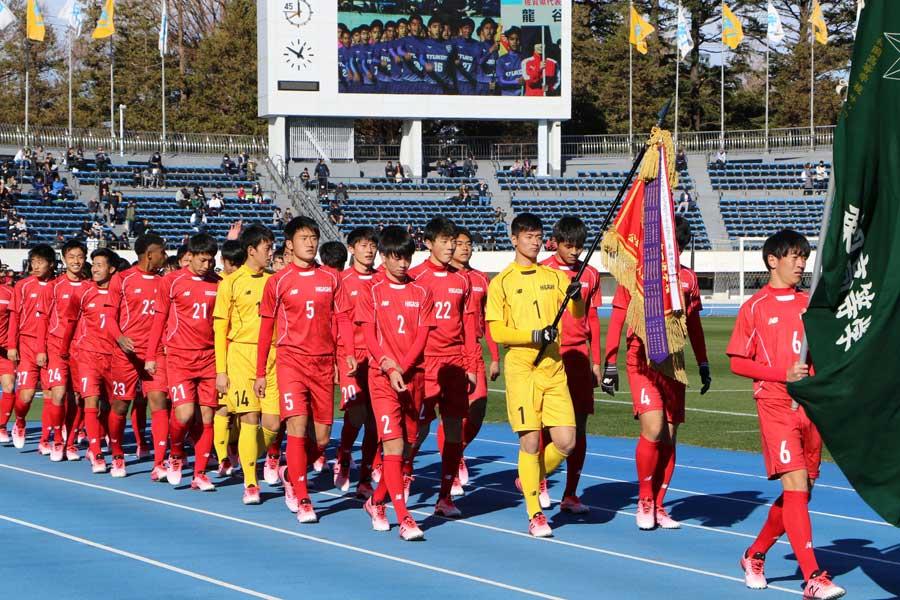 東福岡高校【写真:Football ZONE web】