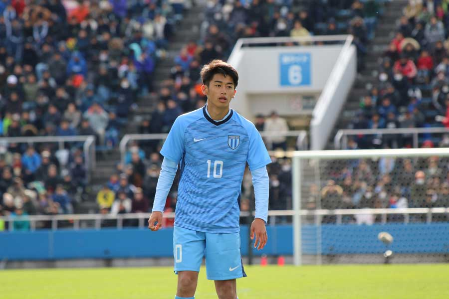 桐光学園のFW西川潤【写真:Football ZONE web】