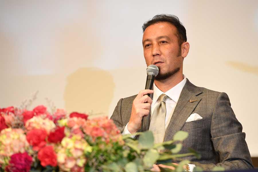 現役引退を表明した元日本代表DF田中マルクス闘莉王【写真:栗山尚久】