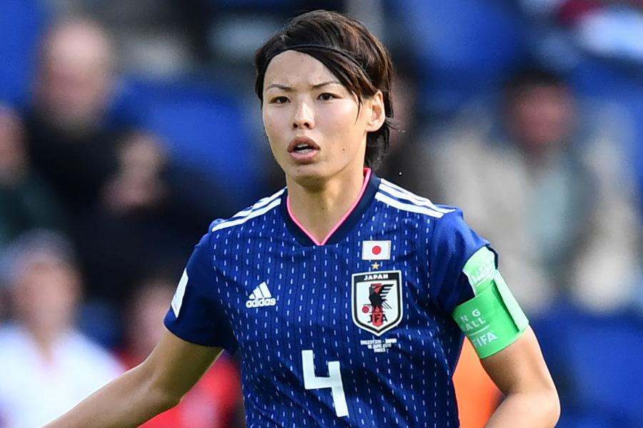 リヨンに所属する日本代表DF熊谷紗希【写真:Getty Images】