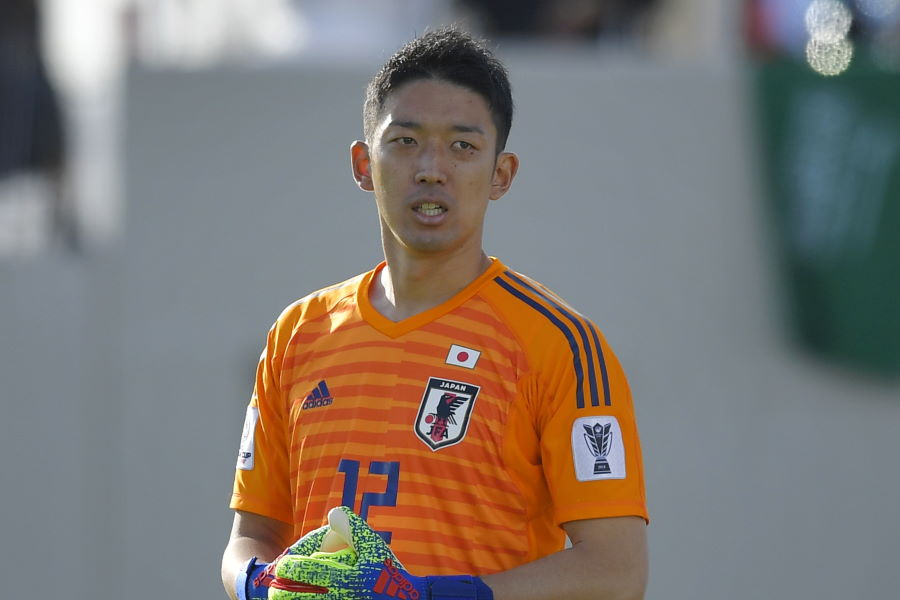 日本代表GK権田は恩師アギーレ氏と再会した【写真:Getty Images】