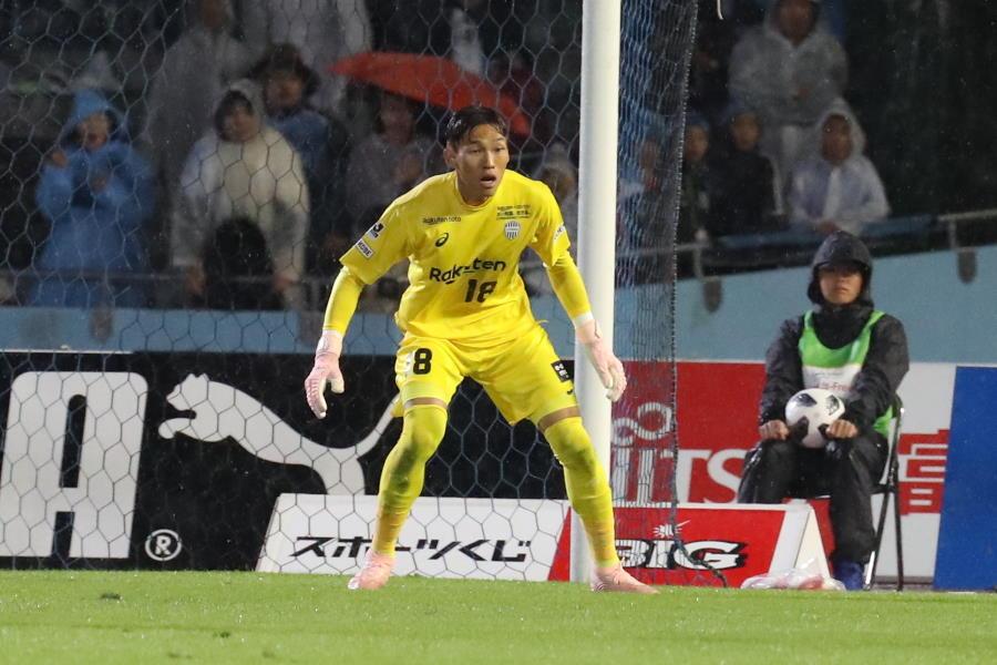神戸時代のGKキム・スンギュ【写真:Football ZONE web】