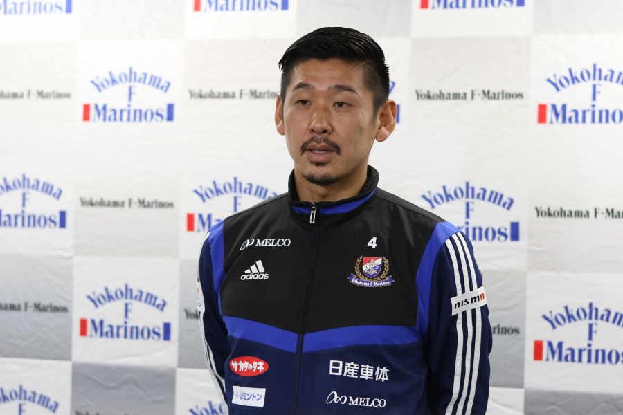 現役引退を発表した栗原勇蔵【写真:Football ZONE web】