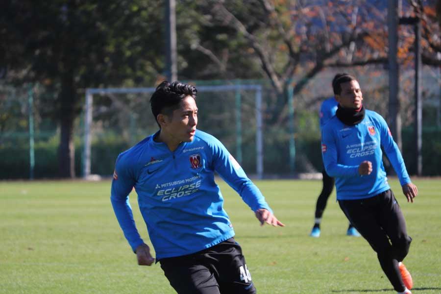 浦和レッズを退団する元日本代表DF森脇良太【写真:轡田哲朗】
