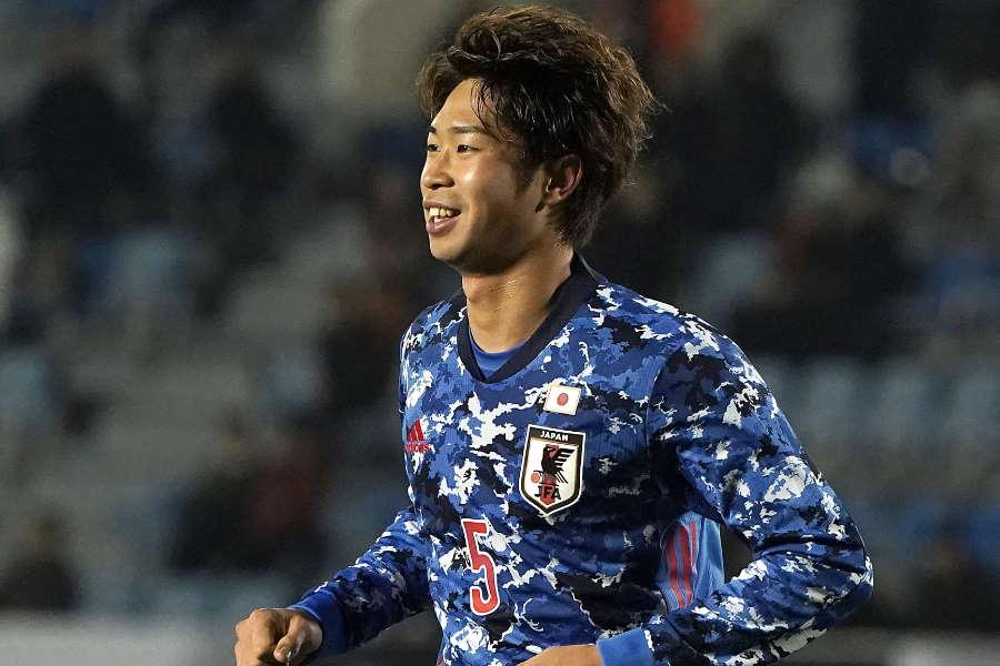 日本代表MF三浦弦太【写真:Getty Images】