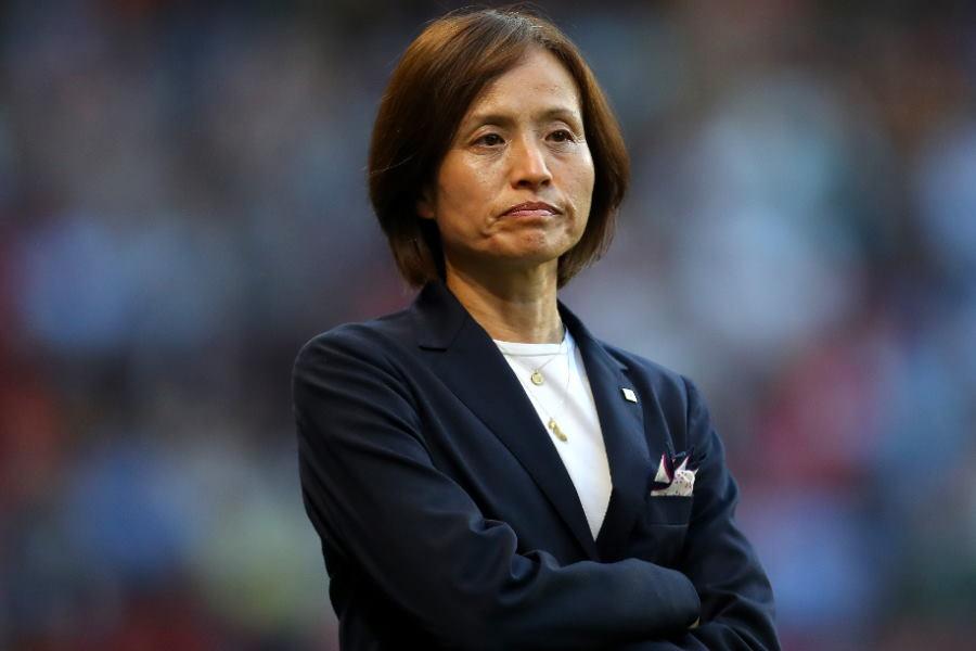 試合での手応えを口にした、なでしこジャパンの高倉監督【写真:Getty Images】