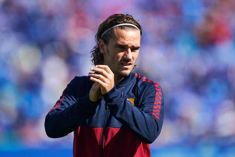 バルセロナ移籍の真相を明かしたFWグリーズマン【写真:Getty Images】