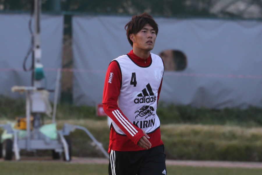 日本代表FW小川航基【写真:Football ZONE web】