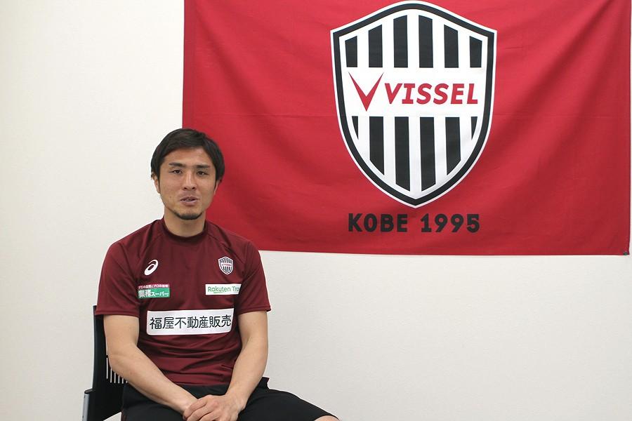 現役引退を発表した神戸DF那須【写真:Football ZONE web】