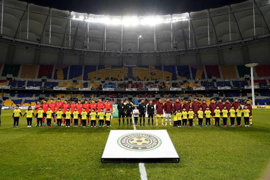 日韓戦が行われる釜山のアジアドメインスタジアム【写真:Getty Images】