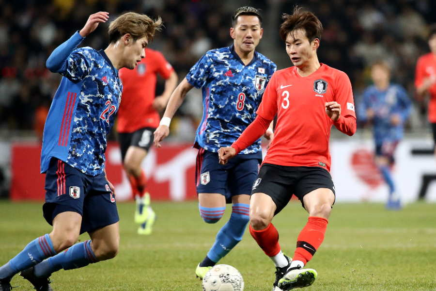 日韓戦ではそれぞれの選手が個性を発揮できなかった【写真:Getty Images】